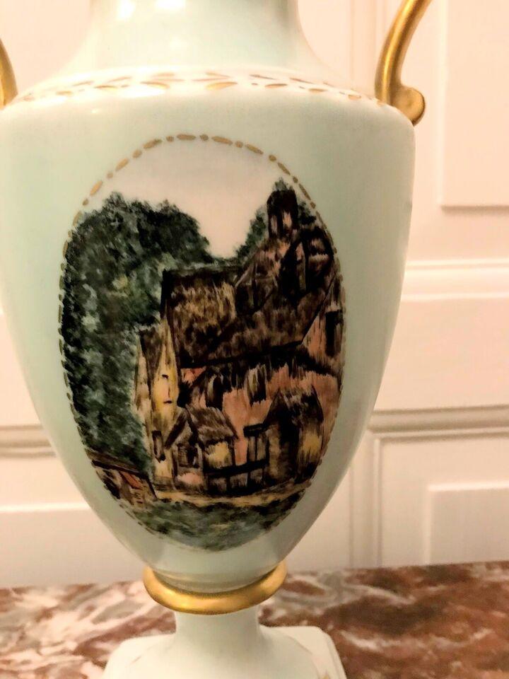 Porcelæn, Lågvase, Alboth Kaiser