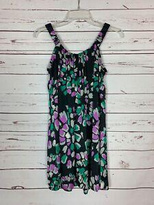 Collective-Concepts-Stitch-Fix-Women-039-s-S-Small-Purple-Black-Sleeveless-Tunic-Top
