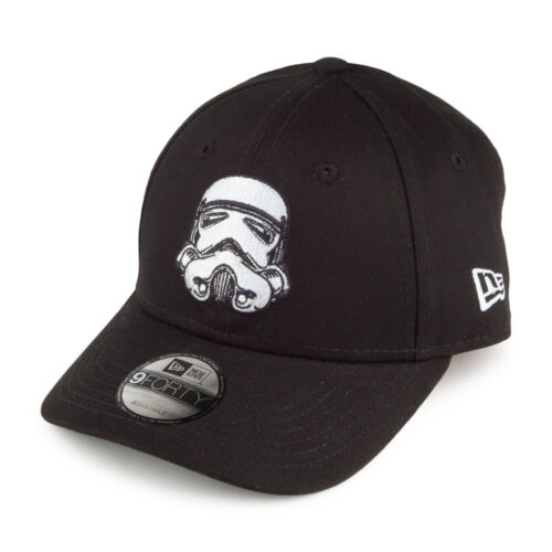 New Era Kids 9Forty Star Wars Stormtrooper Curve Peak Black Adjustable Cap Hat
