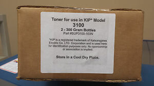KIP 3100 Toner Non Genuine Black 2 cartridges per box