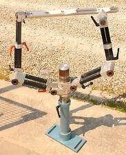 Lasertisch Stativ 2-armig Makromanipulator xyz-verstellbar f. Laser-anwendungen