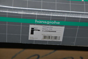 Hansgrohe 31080000 31080 Metris 110 Waschtischmischer Ablaufgarnitur Wt Chrom Auf Der Ganzen Welt Verteilt Werden Heimwerker