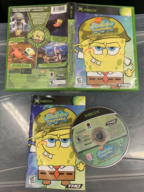Spongebob Squarepants Battle for Bikini Bottom Microsoft Xbox Complete