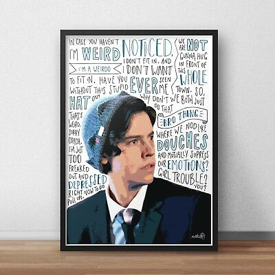 Riverdale Cole Sprouse As Jughead 24x34inch TV Silk Poster Wall Decoration