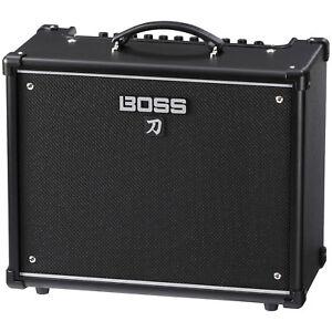boss katana ktn 50 50w 1x12 guitar combo amplifier black ebay. Black Bedroom Furniture Sets. Home Design Ideas