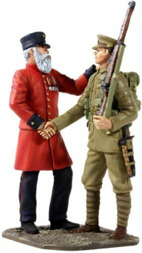 BRITAINS 23059 -  The Vetern's Farewell  - 19th Century Veteran & Young Lad