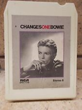 1976 DAVID BOWIE- CHANGESONEBOWIE -8 TRACK TAPE by RCA