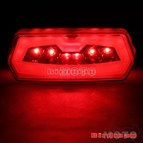 Pour 14-15 Honda CB 650 F CBR 650 F Fumée DEL Feu arrière intégré Turn Signal Lampe