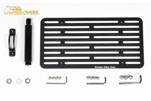 EOS Plate For 14-Up MB S-Class Sedan PDC FULL Sized Tow License Lowering Bracket
