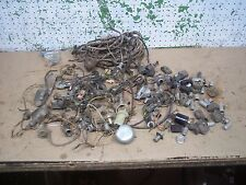 MISC LOT ELECTRICAL PART DASH LIGHT CONECTOR HOOD LAMP CHEVY FORD DODGE RAT ROD