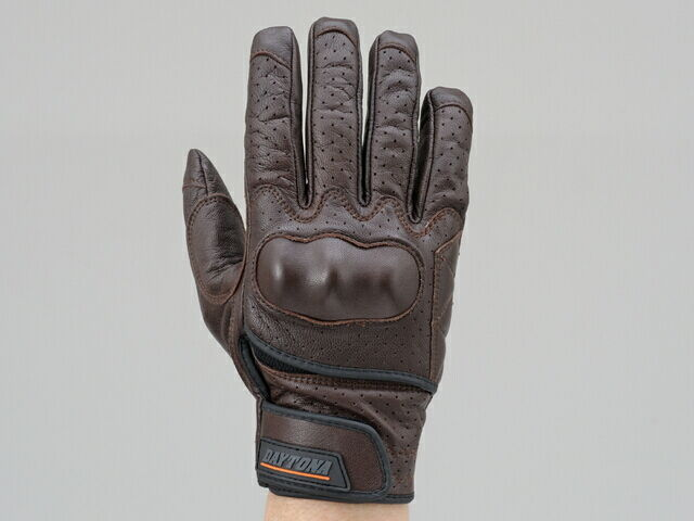 DAYTONA Goat Skin Punching Mesh Glove Protection Type Size:L