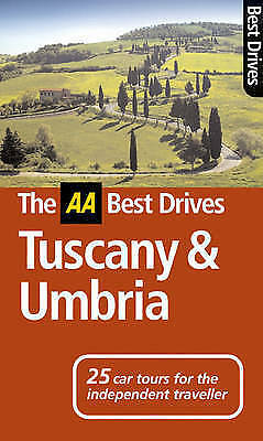 AA Best Drives Tuscany and Umbria, Baldi, Stefano, Very Good Book