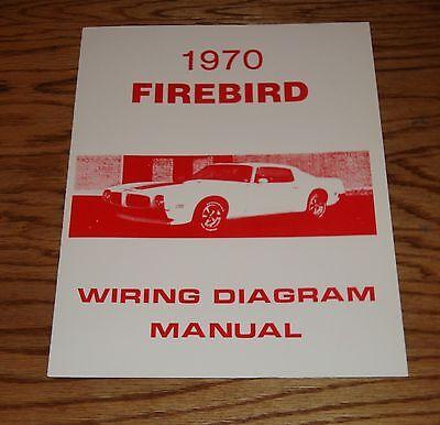 1970 Pontiac Firebird Wiring    Diagram    Manual 70   eBay