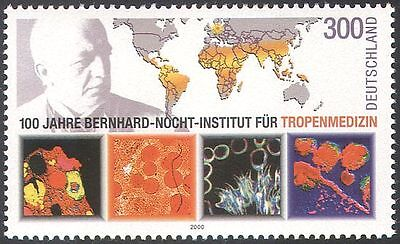 Germany 2000 Nocht/Medical Institute/Health/Science/Maps/Bacteria 1v (n31855)