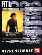 PUBLICITE ADVERTISING 015  2004  RTL radio AUDREY TAUTOU film UN LING DIMANCHE D