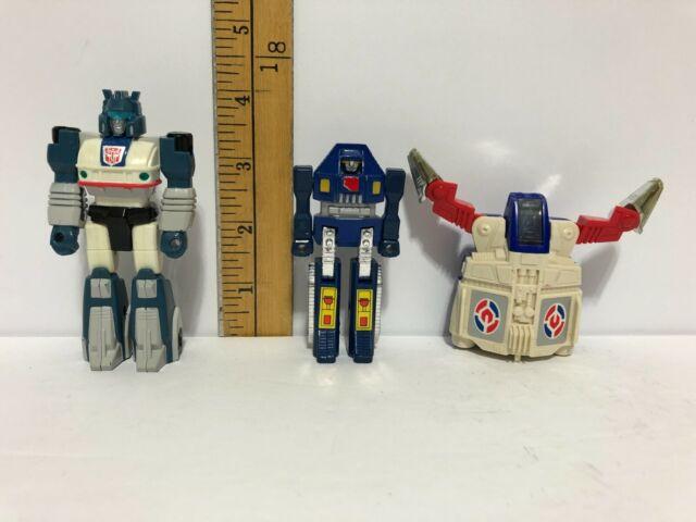Transformers 1989 Jazz / 1982 Bandai GoBots MR-02 / Tomy Go Bot wind up wheel