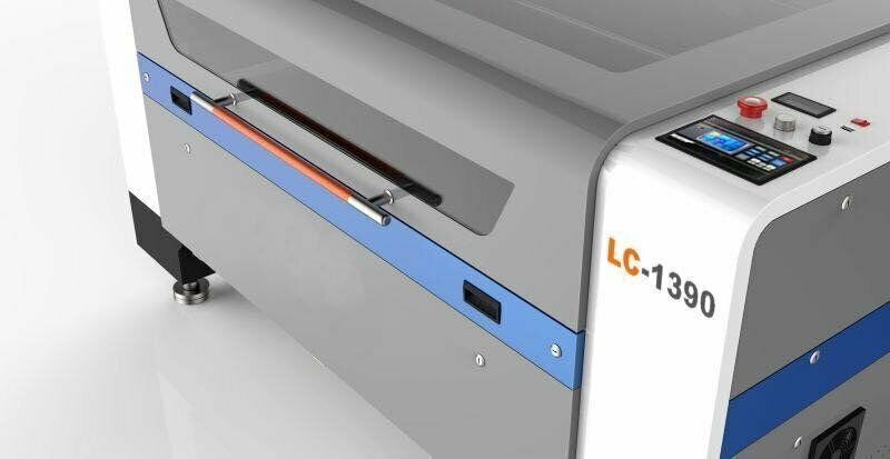 Laser Cutter and Engraver - Signage machine for cutting wood, mdf, perspex and more LC1390 100W