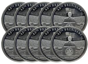 President Donald Trump 1oz Copper Coin Round Lot of 5 Five