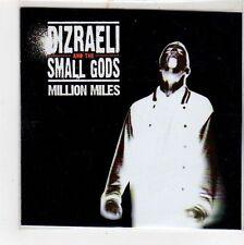 (FU674) Dizraeli & The Small Gods, Million Miles - 2012 DJ CD