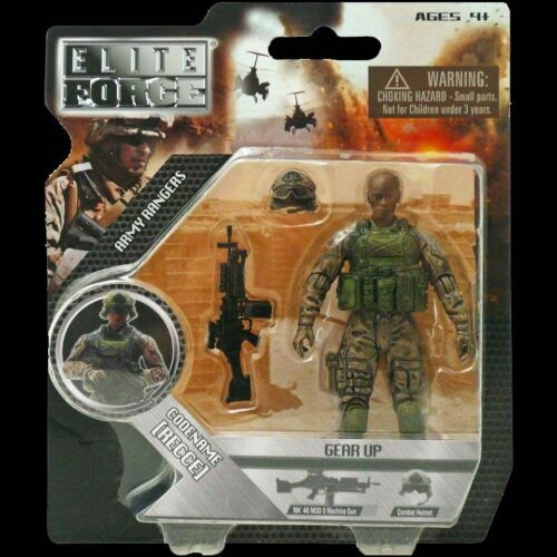 Elite Force Army Rangers Gear Up Figure with Accessories Lot New