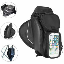 MOTORCYCLE MAGNETIC TANK BAG MOTORBIKE WITH MAP GPS PH WINDOW POCKETS STRAP CHN