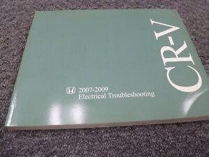 2009 honda crv wiring diagram 2007 2009 honda cr v electrical wiring diagrams manual lx se ex ex  2007 2009 honda cr v electrical wiring