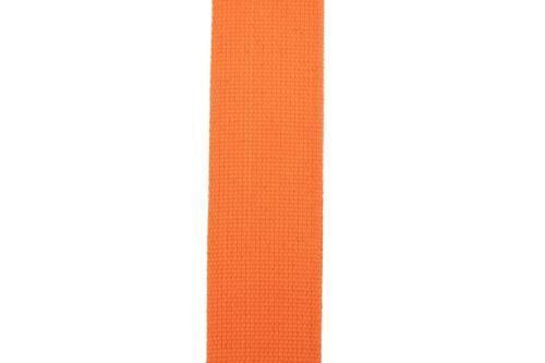 New Neon Orange Cotton Guitar Strap Pick Holder Free Picks Plectrums Slots