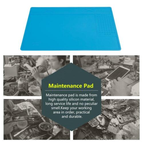 Soldering Repair Maintenance Mat Platform Heat Insulation Silicone Station Pad