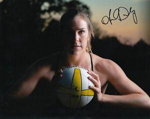 100% De Qualité Amanda Dowdy Signé ( Plage Volley-ball) 8x10 Photo Avp Olympiques Usa W / Coa #1 Pour Aider à DigéRer Les Aliments Gras