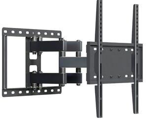 Tv Wall Mount Bracket Full Motion Tilt Swivel Fits 32 40 47 55 65