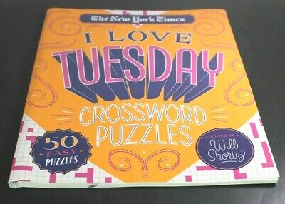 NEW YORK TIMES I LOVE TUESDAY Crossword 50 Easy Puzzles ...