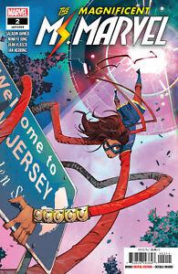 Magnificent-Ms-Marvel-2-Petrovich-Main-Marvel-Comics-1st-Print-2019-unread-NM