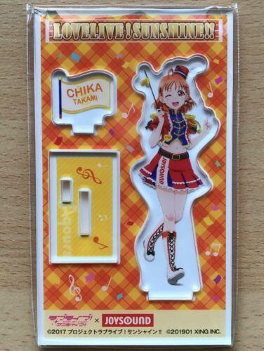 Love Live Sunshine Aqours Acrylic Stand JOYSOUND 2019 Chika Takami