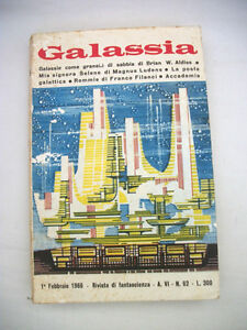 Galassia-Rivista-di-Fantascienza-1-Febbraio-1966-Anno-VI-n-62-La-Tribuna-Ed
