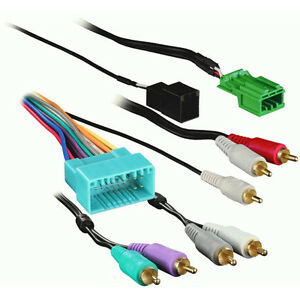 metra 70 7863 amplifier retention wiring harness for 2003 2011 honda rh ebay com honda element trailer wiring harness installation honda element radio wiring harness