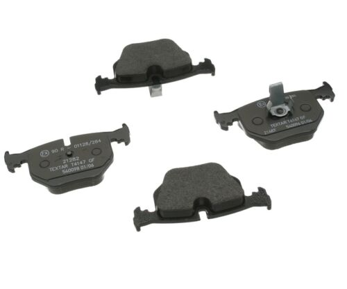 For BMW E46 Brake Pad Set EURO Ceramic w// Shimp Rear OEM TEXTAR 34 21 6 790 071