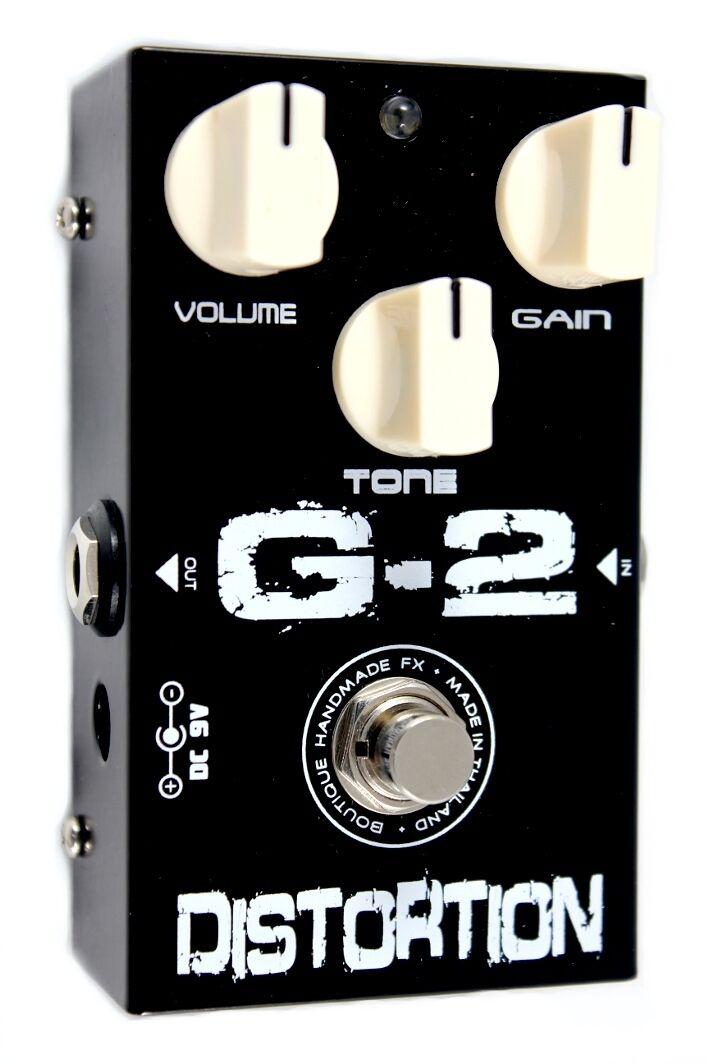 PedalTank G2 Distortion Guitar Effects Pedal