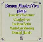Plays Schwantner Ives and Berio IMPORT CD 1991