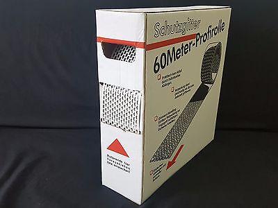 Fürs Dach Vogelschutzgitter Aluminium Weis/broun Lüftungsgitter Schutzgitter 100mm X 60m*