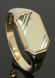 9-Carat-Yellow-Gold-Oblong-Engraved-Signet-Ring-Size-W-9CT-80-19-551