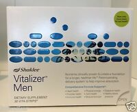 Shaklee Vitalizer Men 30 Day Supply Vitamins Sealed . Most Current Lot Of 1