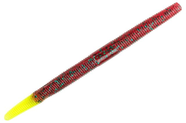 Strike King Shim-E-Stick Senko Worm SES5-64 Black Blue Tail