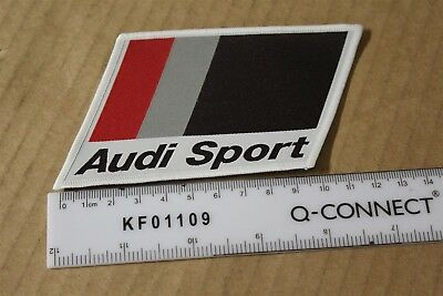 AUDI Motorsport Iron or sew on embroidered Patch A360