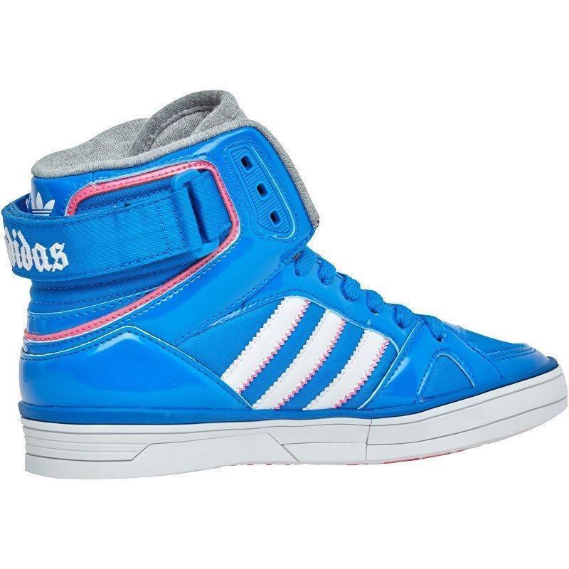 2b726d56db Da Donna Adidas Space Diver W scarpe da da da ginnastica Alte Blu Q21306  RRP .