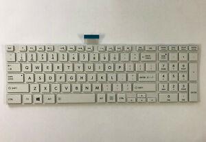 Genuine-Toshiba-Satellite-C850-L850-Series-Laptop-Keyboard-White-H000046200