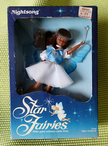 New-Vintage-1985-Tonka-NIGHTSONG-Star-Fairies-African-American-Doll-7700-833895