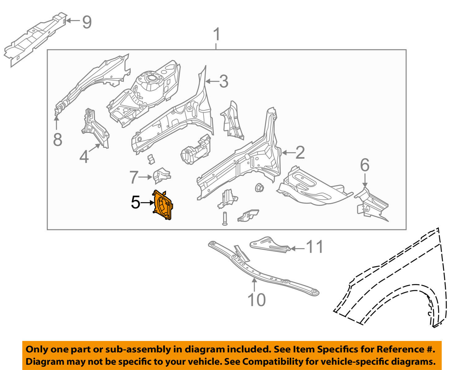 2012 Ford Focus Parts Diagram In Addition 2012 Ford Focus Front Bumper