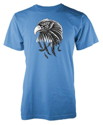 Eagle Head Bird Feather Adult T Shirt