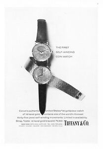 1974-U-S-20-00-Gold-Piece-Watch-photo-034-Self-Winding-034-Tiffany-amp-Co-print-ad