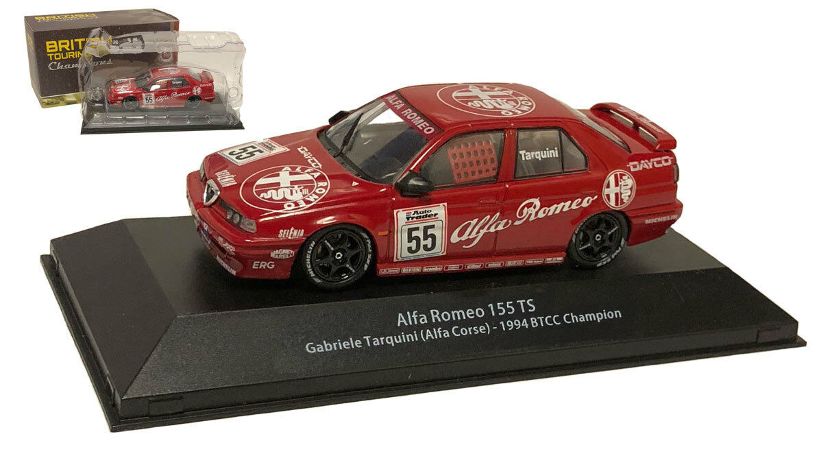 ATLAS ALFA ROMEO 155 TS 'ALFA CORSE  Racing Champion 1994-Gabriele Tarquini